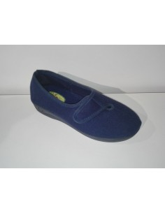 ZAPATILLA MUJER INDUSCAL ANCHO ESPECIAL