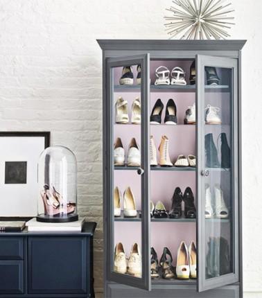 """""""4 Formas creativas de organizar tus zapatos"""""""