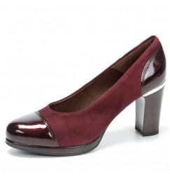 Zapatos granate para mujer qFw03z